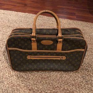 Rare vintage Louis Vuitton luggage